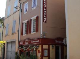 Hôtel Restaurant Les Jeunes Chefs, Saillans (рядом с городом Montclar-sur-Gervanne)