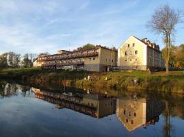 Hotel Resort Stein, Cheb (Pomezí nad Ohří yakınında)