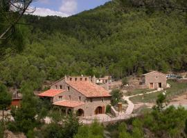 Cabañas Mas de Borràs, Villahermosa del Río (Lucena del Cid yakınında)