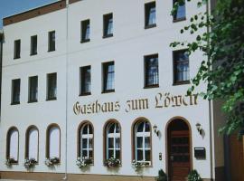 """Hotel """"Gasthaus zum Löwen"""", Zörbig (Kösseln yakınında)"""