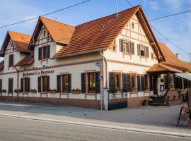Hôtel Restaurant La Couronne, Roppenheim (рядом с городом Roeschwoog)