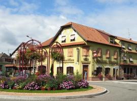 Hôtel-Restaurant La Crémaillère, Kaltenhouse (рядом с городом Бишвиллер)