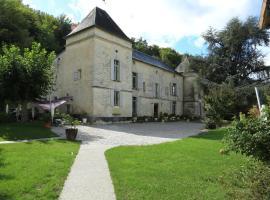 Château de Courtebotte, Saint-Jean-de-Blaignac (рядом с городом Sainte-Terre)