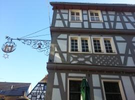 Hotel Blaues Haus, Otterberg (Otterbach yakınında)
