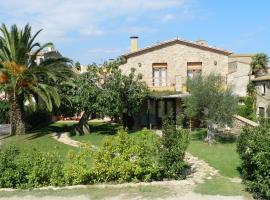 Casa Rural Can Ginesta, Sant Feliu de Boada (Fontclara yakınında)