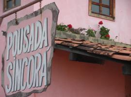 Pousada Sincorá, Andaraí (Vera Cruz yakınında)