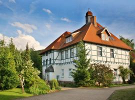 Ferienwohnung Hoff, Göllingen (Hachelbich yakınında)