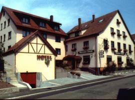 Hotel Traube, Fellbach (Neckarrems yakınında)