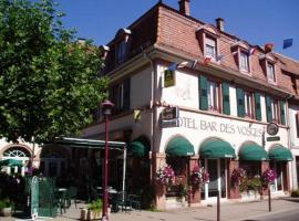 Hôtel Bar Des Vosges, Мюнстер