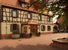 Landhotel Sickinger Hof, Walldorf (Near Sankt Leon-Rot)