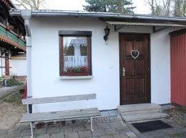 Ferienwohnung Schedifka, Sondershausen (Hachelbich yakınında)