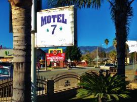 Downtown Motel 7, San Bernardino (in de buurt van Serrano Village)