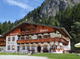 Pension Bärenwirt, Leutasch (Scharnitz yakınında)