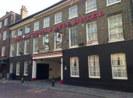 The Royal Victoria & Bull Hotel, Rochester (рядом с городом Strood)