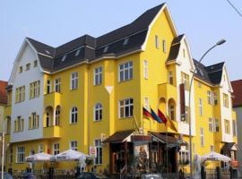 Entrée Hotel Berlin Karlshorst