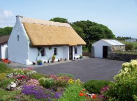 An Caladh Gearr Thatch Cottage, Spiddal