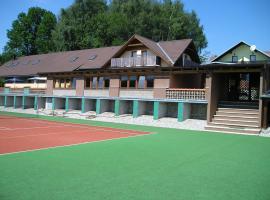 Pension Račín, Svatá Kateřina (Hodousice yakınında)