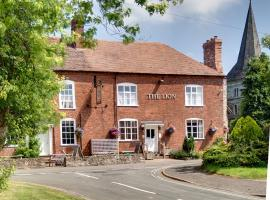 The Lion Inn, Clifton upon Teme (рядом с городом Upper Sapey)