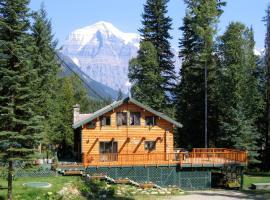 Mountain River Lodge, Mount Robson (Red Pass Junction yakınında)