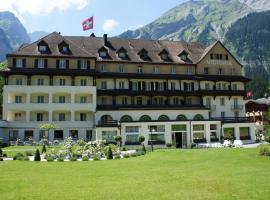Belle Epoque Hotel Victoria, Kandersteg