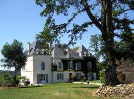 Domaine de La Fauconnie, Campsegret (рядом с городом Saint-Georges-de-Monclard)
