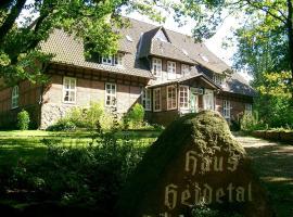 Haus Heidetal, Niederhaverbeck (Oberhaverbeck yakınında)