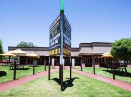 Boomerang Hotel, Олбери