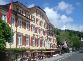 Hotel Schweizerhof, Alt Sankt Johann (Nesslau yakınında)