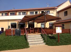 Active Wellness hotel U zlaté rybky, Vyškov (Rousínov yakınında)