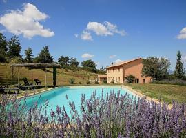 Villa Le Terme, San Casciano dei Bagni (Trevinano yakınında)