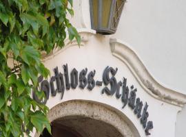 Hotel Garni Schloss Schänke, Bautzen (Schmochtitz yakınında)