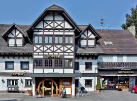 Hotel Landgasthaus Rössle, Hofweier (Schutterwald yakınında)
