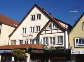 Gästehaus Stelle, Gammertingen (Inneringen-Hettingen yakınında)