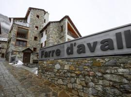 Hotel Farré D'avall, Barruera