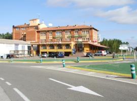 Hostal El Botero, Monreal del Campo (Aguatón yakınında)
