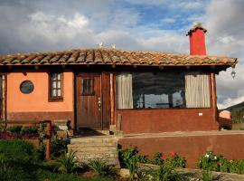 Pucara B&B and Spanish School, Otavalo (Hacienda La Olimpia yakınında)