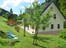 Farmhouse Štiftar, Solčava