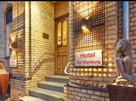Hotel Zur Wartburg, Rheda-Wiedenbrück (Langenberg yakınında)