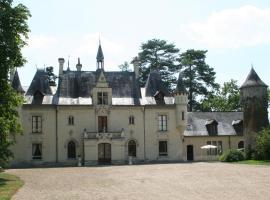 Château de Nazé, Vivy (рядом с городом Neuillé)