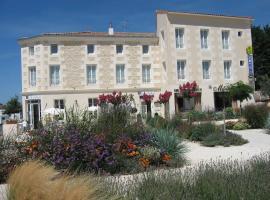 Hotel Le Richelieu, Saujon (рядом с городом Saint-Romain-de-Benet)