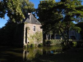 Château de la Cour - Logis St Bômer, Sainte-Gemmes-le-Robert (рядом с городом Évron)