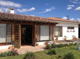 Casa Lila Hotel, Suesca (El Potrero yakınında)