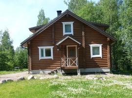 Villa Pyhalto, Ylä-Jääski (рядом с городом Saaramaa)