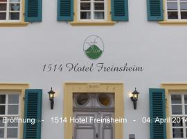 1514 Boutique Hotel Freinsheim, Freinsheim