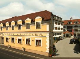 Hotel Krutzler, Heiligenbrunn (рядом с городом Rátót)