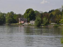 Fischwirtshaus Landmotel Die Donaurast, Persenbeug (Ybbs an der Donau yakınında)