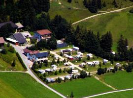 Camping Alpenwelt, Tannheim (Zöblen yakınında)