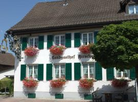 Hotel Landgasthof Hirschen, Ramsen (Rielasingen-Worblingen yakınında)