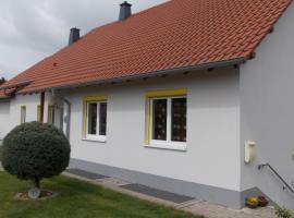Ferienwohnung Knobloch, Wahlheim (Flomborn yakınında)