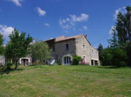 Chambres d'Hotes La Grange au Negre, Alba La Romaine (рядом с городом Valvignères)